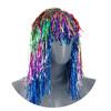 Парик карнавальный  из разноцветной мишуры