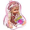 """Кукла  """"Алина в беретке в сумке """""""