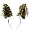 Набор карнавальный ободок с мишурой на пружинках