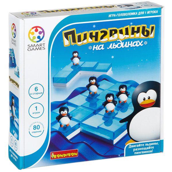 """""""<b>Пингвины</b> на льдинах"""" - логическая <b>игра BONDIBON</b> ..."""