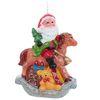 """Свеча """"Дед Мороз на лошадке"""""""