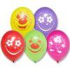 """Набор воздушных шаров с рисунком BELBAL """"Клоун"""", 50 шт."""