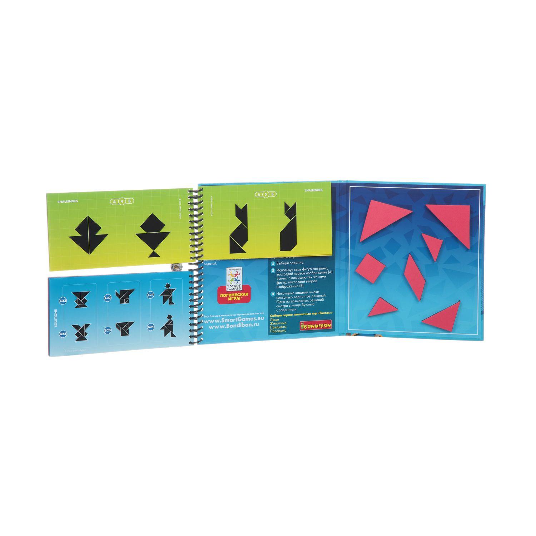 """""""Тангос Парадокс"""" - магнитная компактная игра для путешествий BONDIBON SMARTGAMES"""