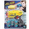 Набор игровой для стрельбы по мишеням: пистолет, патроны, банки