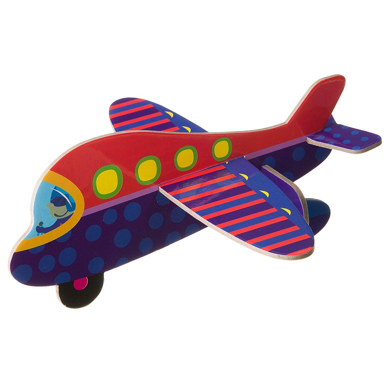 """""""3D модели из картона. Самолет"""" - набор для творчества BONDIBON"""