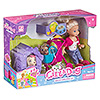 Набор игровой Cute Girl с куколкой, прогулка с домашними питомцами