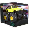 Пластиковая инерционная машинка 4WD на резиновых полых шинах