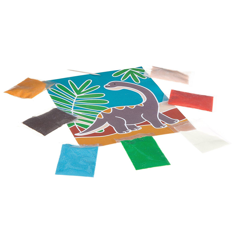 """""""Фреска динозавры"""" - набор для творчества Bondibon"""