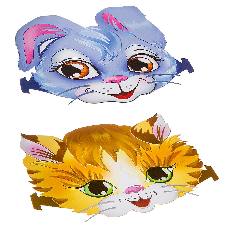 """""""Набор ободков. Котёнок и Зайчик"""" - набор для творчества BONDIBON"""