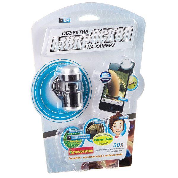 """Объектив-микроскоп на камеру смартфона"" - развивающая игрушка BONDIBON"