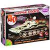 Сборная 4D модель танка  №1