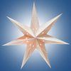 Гирлянда-светильник электрическая Рождественская звезда, цвет кремовый, подключается к электросети