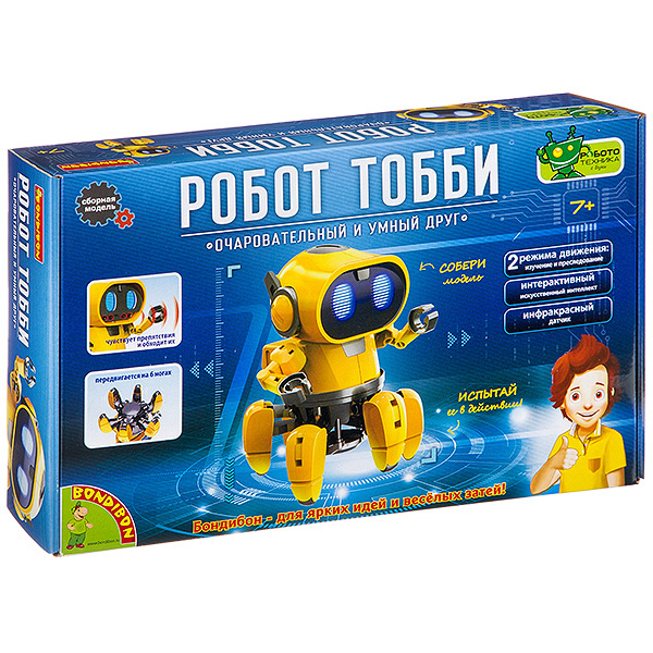 """""""Робот Тобби"""" - Французские опыты Науки с Буки Bondibon"""
