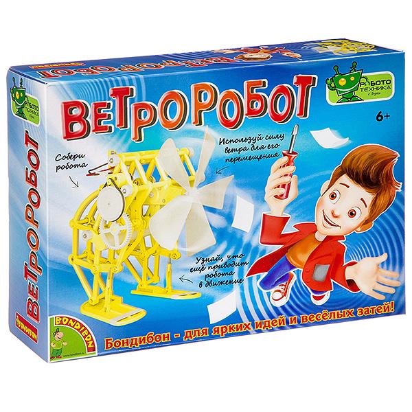 """""""Ветроробот"""" - французские опыты Науки с Буки Bondibon"""