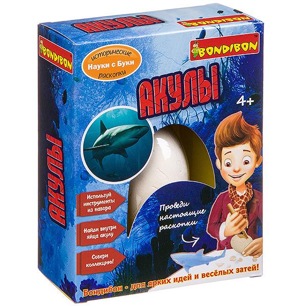 """""""Акулы"""" -исторические раскопки Науки с Буки Bondibon"""