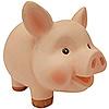 Символ года копилка свинья