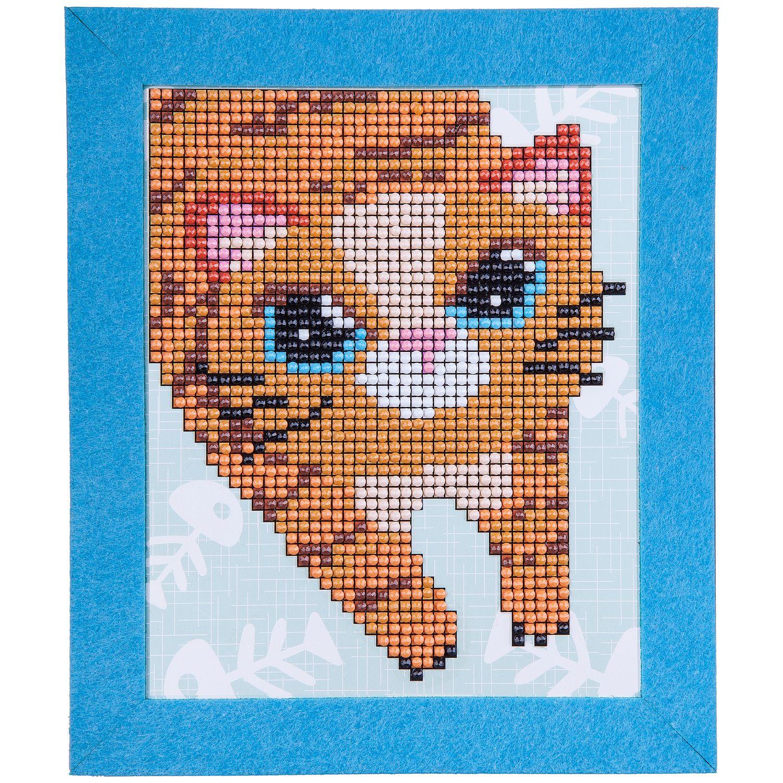 """Алмазная мозаика. Картина Котейка"" - набор для творчества  BONDIBON."